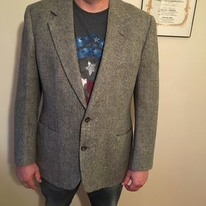 Bill blasts vintage wool jacket